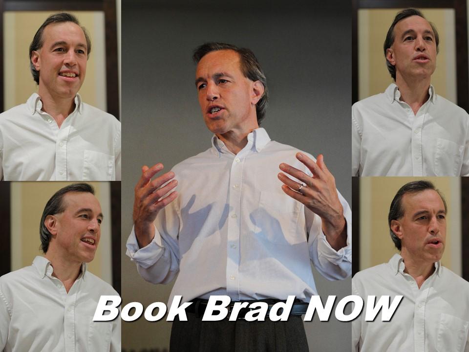 Book Brad Now